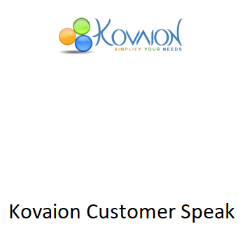 Kovaion Customer Speak – Affine Analytics