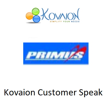 Kovaion Customer Speak – Primus