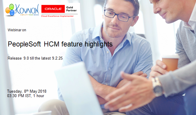 Peoplesoft HCM Feature Highlights