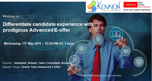 Differentiate candidate experience with prodigious Advanced E-offer