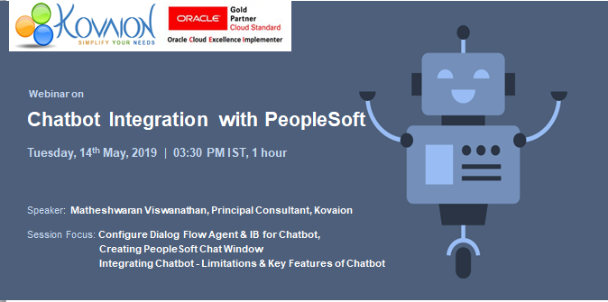 Chatbot Integration with PeopleSoft