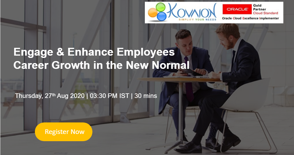 Engage & Enhance Employees Career Growth in the New Normal